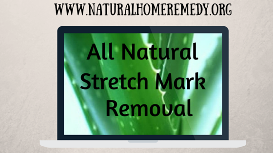 All Natural Stretch Mark Removal