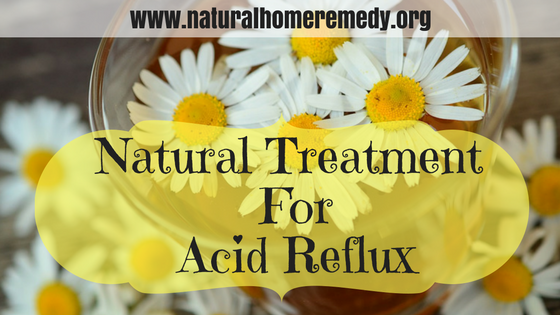 Natural Treatment For Acid Reflux