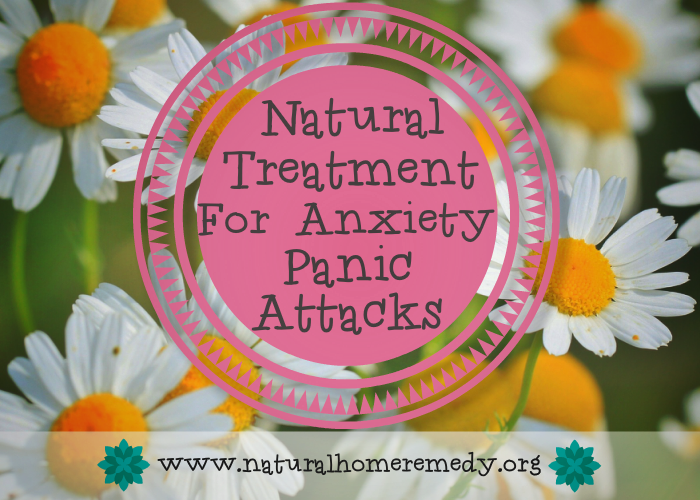 Natural Treatment For Anxiety Panic Attacks